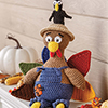 Harvest Home -- Gobbler Scarecrow