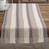 Harvest Home -- Textured Stripes Table Runner