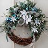 Holiday Home -- Silvery Wreath