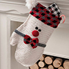 Holiday Home -- Smitten Snowman Stocking
