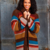 Touch of Style -- Painted Desert Cardigan