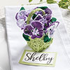 It's Spring —  Pansy Basket