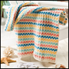 A Day at the Beach -- Summer Stripes Beach Towel