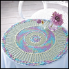 Just Threads -- Reflections Doily