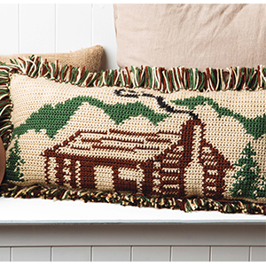Rustic Cabin Pillow