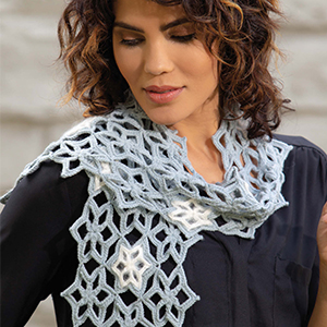 Ice Crystals Scarf