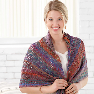 Lacy Shells Wrap