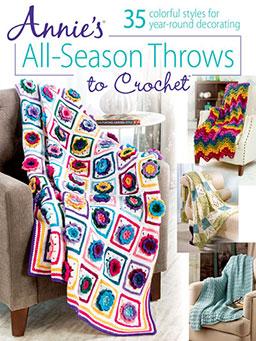 Annie's All-Season Throws to Crochet
