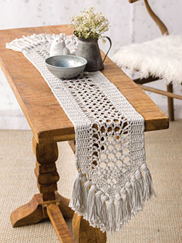 Cotton Bloom Table Runner