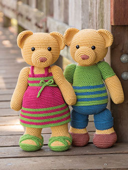 ANNIE'S SIGNATURE DESIGNS: Irene & George Crochet Pattern
