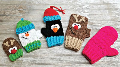 Sampler Mitts to Mittens