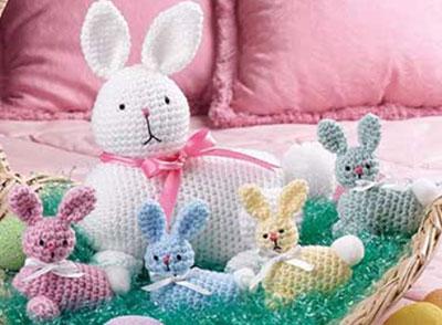 Easter Bunny & Babies
