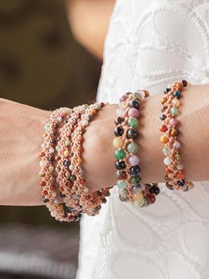 Turkish Crochet Bracelets & Watchband Crochet Pattern