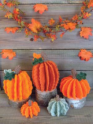 The Lacy Pumpkin Patch Crochet Pattern