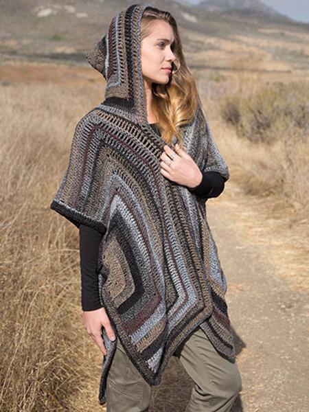 Pauwau Poncho Crochet Pattern